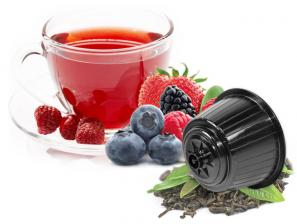 Teas and infusions compatible capsules with NESCAFÉ® Dolce Gusto®* system Caffè Bonini Frutti Di Bosco Box