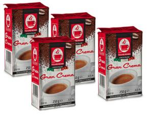 Gemahlener Kaffee  Gemahlener Kaffee an das System Caffè Bonini Gran Crema