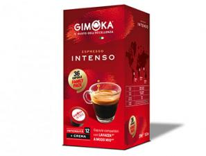 Compatible Coffee Capsules for the system Lavazza a Modo Mio Gimoka Intense espresso