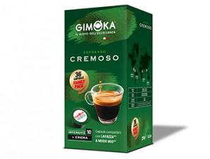 Compatible Coffee Capsules for the system Lavazza a Modo Mio Gimoka Creamy espresso