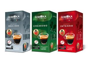 Compatible Coffee Capsules for the system Lavazza a Modo Mio Gimoka Gimoka tasting kit