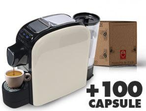 Coffee machines Caffè Bonini Bonita + 100 Coffee Capsules