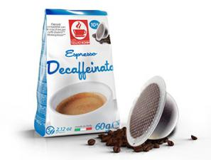 Compatible Coffee Capsules for the system Bialetti Mokespresso Caffè Bonini Decaffeinato