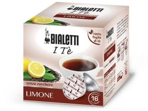 The Original Herbal teas and capsules for the system Bialetti Mokespresso Bialetti Te Nero Al Limone