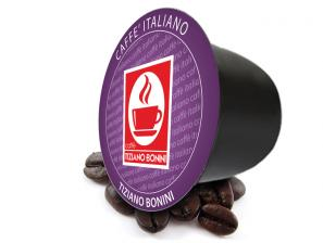 Original Coffee Capsules for the system Bonini Club Caffè Bonini Forte