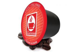 Original Coffee Capsules for the system Bonini Club Caffè Bonini Intenso