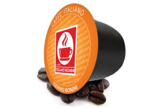 Original Coffee Capsules for the system Bonini Club Caffè Bonini O' Vesuvio