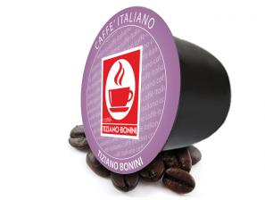 Original Coffee Capsules for the system Bonini Club Caffè Bonini Seta