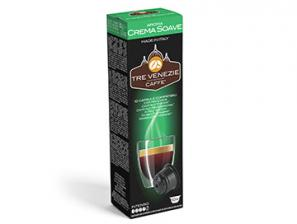 Compatible Coffee Capsules for the system Caffitaly Professional Caffè Tre Venezie Crema Soave