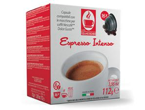Compatible Coffee Capsules for the system Nescafé Dolce Gusto Caffè Bonini Intenso