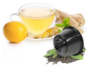 Teas and infusions compatible capsules with NESCAFÉ® Dolce Gusto®* system Caffè Bonini Ginger And Lemon Box