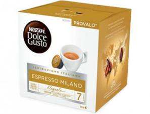 Original Coffee Capsules for the system Nescafé Dolce Gusto Nescafè Espresso Milano