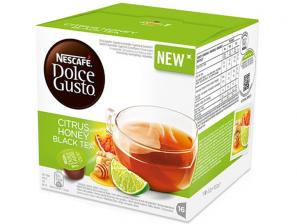 The Original Kruidenthee en capsules voor het NESCAFÉ® Dolce Gusto®* systeem NESCAFÉ®* Citrus Honey Black Tea