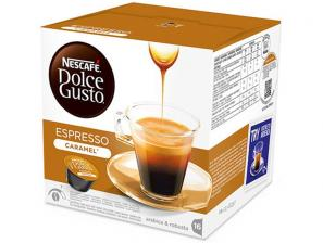 Original Coffee Capsules for the system Nescafé Dolce Gusto Nescafè Espresso caramel