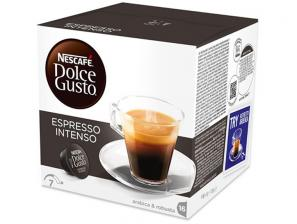 Original Coffee Capsules for the system Nescafé Dolce Gusto Nescafè Espresso Intenso