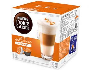 Capsule Original Drinks for the system Nescafé Dolce Gusto Nescafè Latte Macchiato Caramel