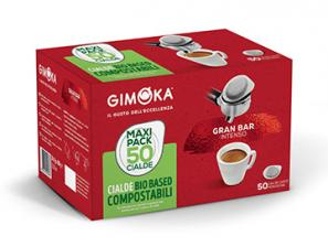 Dosettes de café compatibles Bar Gran Intense ESE 44mm