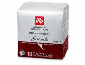 Original Coffee Capsules for the system Illy Iperespresso Illy Monoarabica Guatemala