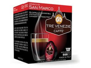 Capsule Caffè Compatibili Lavazza a Modo Mio Caffè Tre Venezie Arabica Di San Marco