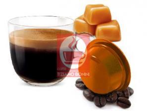 Capsule Boissons compatibles pour le système Lavazza a Modo Mio Caffè Bonini Café au caramel
