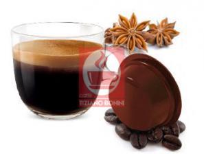 Kapsel Kompatibel Getränke Lavazza a Modo Mio an das System Caffè Bonini Sambuca Kaffee