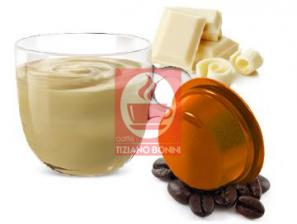 Capsule Compatible Drinks for the system Lavazza a Modo Mio Caffè Bonini White chocolate