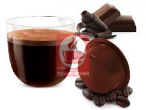 Kapsel Kompatibel Getränke Lavazza a Modo Mio an das System Caffè Bonini Cioccolino