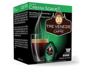 Capsule Caffè Compatibili Lavazza a Modo Mio Caffè Tre Venezie Crema Soave