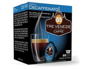 Capsule Caffè Compatibili Lavazza a Modo Mio Caffè Tre Venezie Decaffeinato