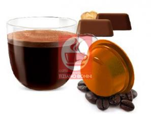 Capsule Compatible Drinks for the system Lavazza a Modo Mio Caffè Bonini Gianduia
