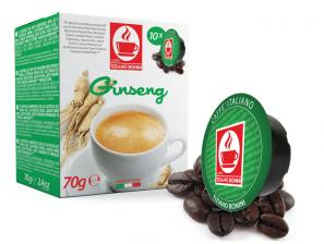 Capsule Compatible Drinks for the system Lavazza a Modo Mio Caffè Bonini Ginseng Solubile