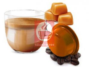 Capsule Compatible Drinks for the system Lavazza a Modo Mio Caffè Bonini Latte Caramel