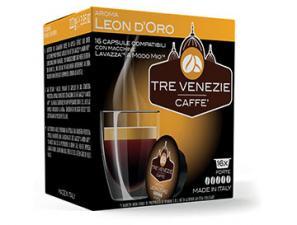 Capsule Caffè Compatibili Lavazza a Modo Mio Caffè Tre Venezie Leon D'oro