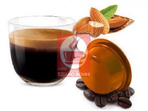 Kapsel Kompatibel Getränke Lavazza a Modo Mio an das System Caffè Bonini Mandorlini