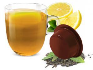Teas and infusions compatible capsules for the system Lavazza a Modo Mio Caffè Bonini Tè Limone