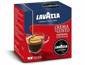 Original Coffee Capsules for the system Lavazza a Modo Mio Lavazza Crema E Gusto