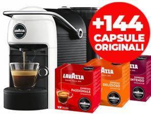 Coffee machines Lavazza Lavazza Jolie Bianca + 144 Capsule Originali