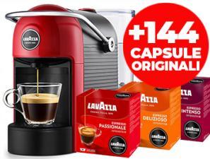 Coffee machines Lavazza Lavazza Jolie Rossa + 144 Capsule Originali
