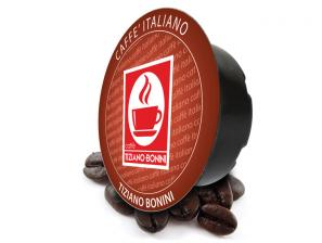 Kompatibel Kaffeekapseln Lavazza a Modo Mio an das System Caffè Bonini Corposo