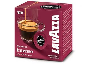 Original Coffee Capsules for the system Lavazza a Modo Mio Lavazza Intenso