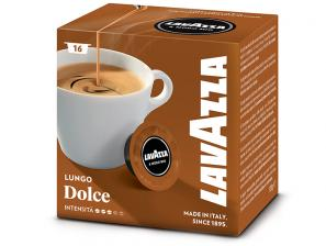 Original Coffee Capsules for the system Lavazza a Modo Mio Lavazza Lungo Dolce