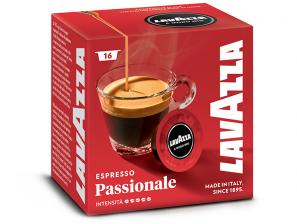 Original Coffee Capsules for the system Lavazza a Modo Mio Lavazza Passionale