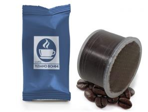 Compatible Coffee Capsules for the system Lavazza Double Dose Caffè Bonini Decaffeinato