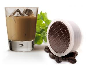 Flavored Coffee Capsules Compatible for the system Lavazza Espresso Point Caffè Bonini Whisky