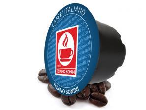 Lavazza Blue aan het systeem  Caffè Bonini Decaffeinato
