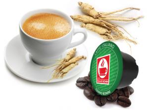 Compatible Coffee Capsules for the system Lavazza In Black Caffè Bonini Ginseng