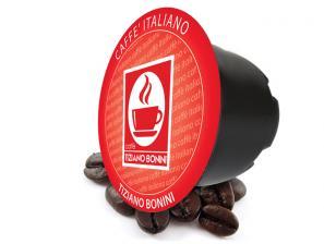 Kompatibel Kaffeekapseln Lavazza In Black an das System Caffè Bonini Intenso