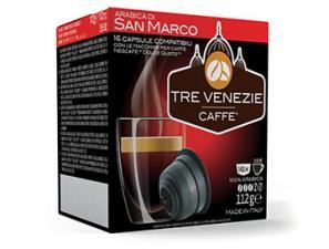 Capsule Caffè Compatibili con sistema NESCAFÉ® Dolce Gusto®* Caffè Tre Venezie Arabica Di San Marco