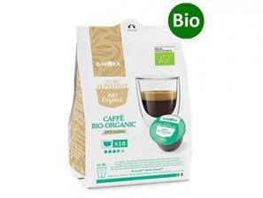 Bio Compatible Coffee Capsules  with NESCAFÉ® Dolce Gusto®* system Gimoka Bio 100% Arabica