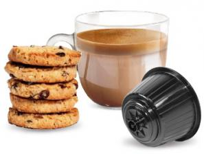 Capsule Boissons compatibles avec le système NESCAFÉ® Dolce Gusto®* Caffè Bonini Biscotto